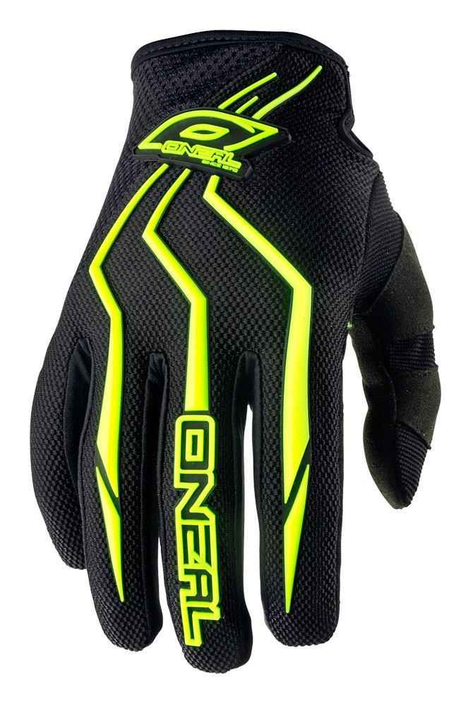 O'Neal Element Kinder Handschuhe Neon Gelb Hi-Viz MX MTB DH Motocross Enduro Offroad Quad BMX FR, 0390-5 O'Neal