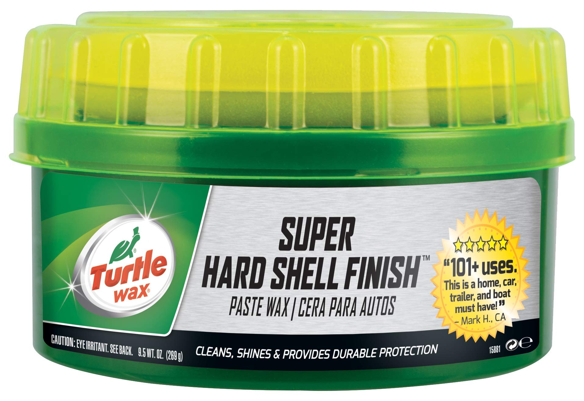 Turtle Wax T-223 Super Hard Shell Paste Wax - 9.5 oz (Pack of 1)