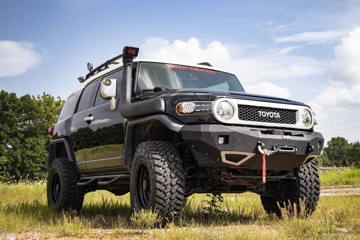 Amazon.com: Rough Country 3in Toyota Suspension Lift Kit (07-14 FJ Cruiser  4WD): Automotive
