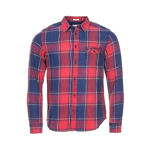Wrangler - Camiseta de manga larga - para mujer