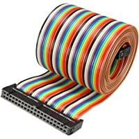 Sourcingmap IDC 40 pines cable plano flexible arco
