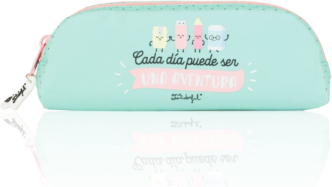 Mr. Wonderful - Portatodo Oval Doble, 22 x 8 cm (SAFTA 821556592): Amazon.es: Equipaje