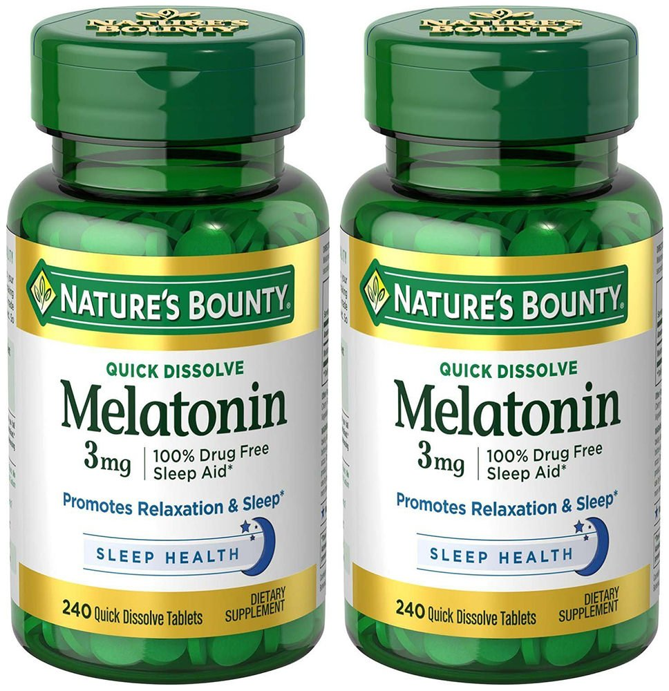 Natures Bounty Melatonin 3 mg sleeping pills or otc sleep aids - 71X95yhZ5gL - Sleeping pills or OTC sleep aids – risks and side effects