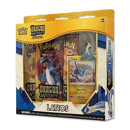 6b23b0738 Amazon.com: Pokemon TCG: Dragon Majesty Pin Collection Box - Latios: Toys &  Games