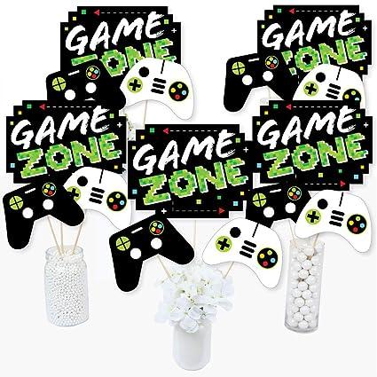 Sensational Amazon Com Game Zone Pixel Video Game Party Or Birthday Interior Design Ideas Apansoteloinfo