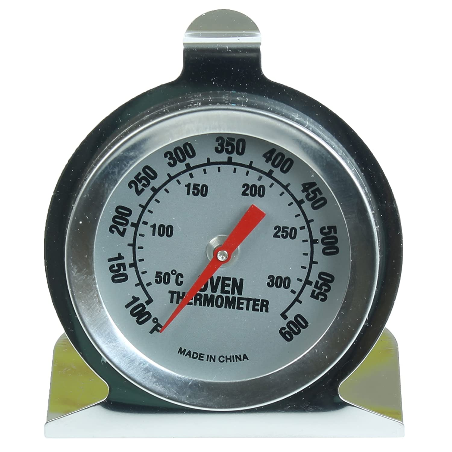 First4Spares High Temperature Stainless Steel Bakers Oven Thermometer