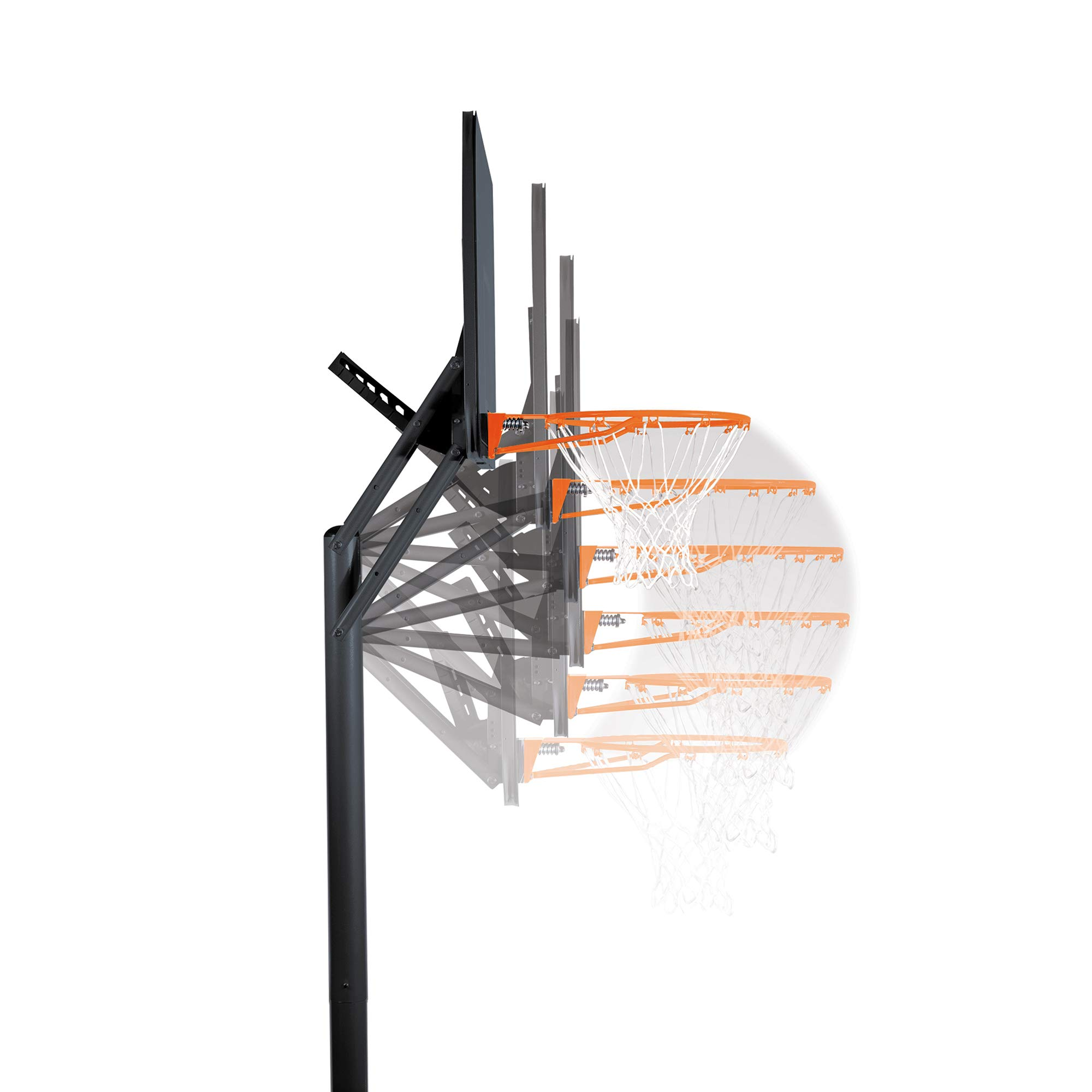 Lifetime Portable Basketball Hoop 90168 48-inch Polycarbonate Backboard System by Lifetime (Image #3)
