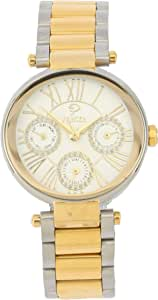 PRINCELY Casual Watch For Women - Stainless Steel -P568LBSG-WH