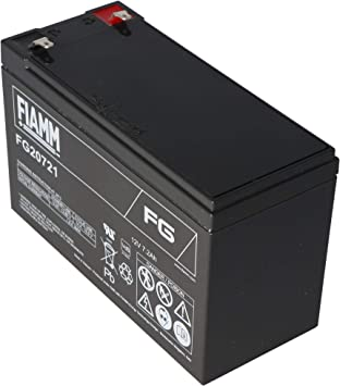 Fg20721 Akku 12 Volt 7 2ah Mit 4 8mm Steckkontakte Elektronik
