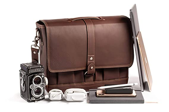 Amazon.com  Attaché Leather Laptop Messenger Bag 866130437aea6