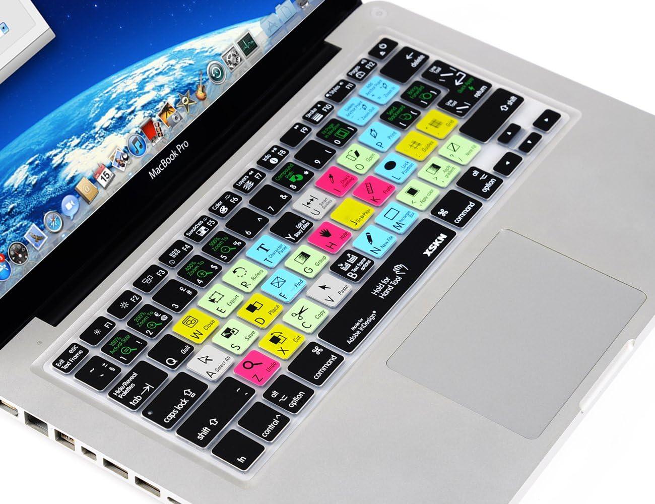 mengersty EU Adobe InDesign Functional Hotkey Shortcuts Keyboard Keyboard Cover Protector