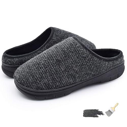 99b29d126c70 YOUKADA House Slippers w Memory Foam for Men Women