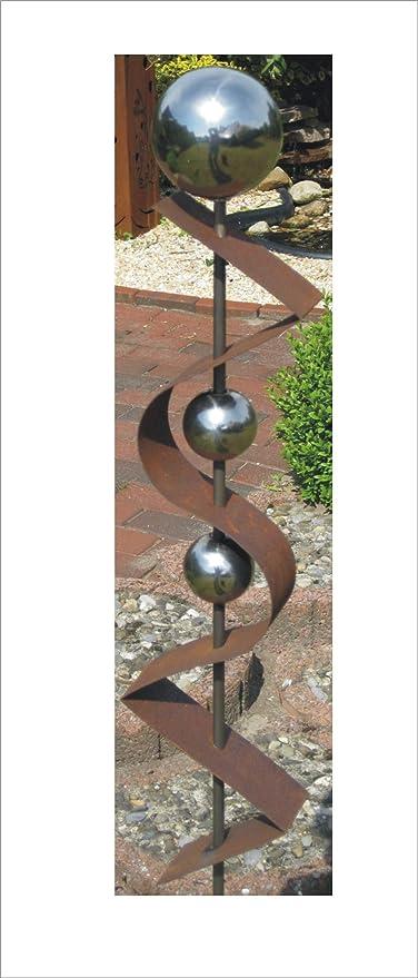 Jabo Design Gartenstecker St200 Rost Skulptur Rostdeko Edelrost