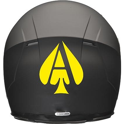 ACE OF SPADES Casco de Moto Coche Adhesivo 100 mm x 120 mm), color