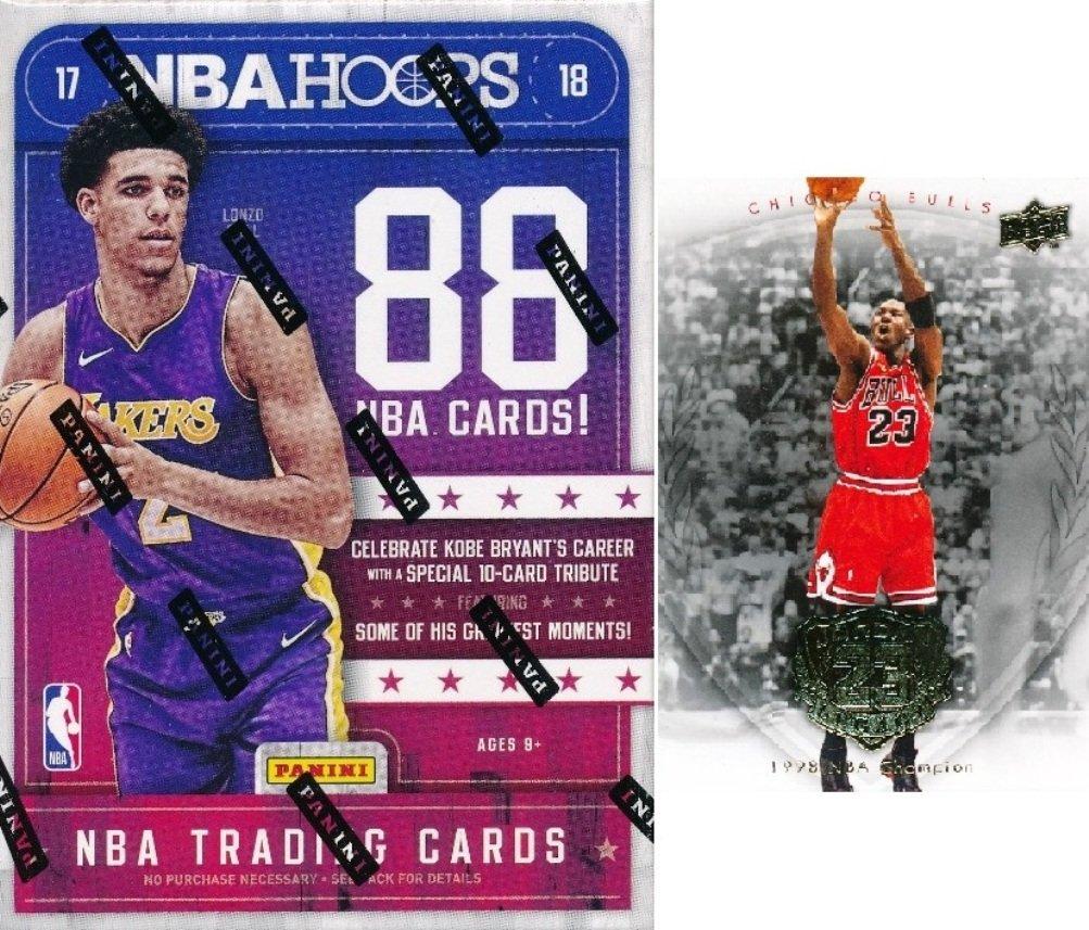 2017/18 Panini Hoops NBA Basketball HUGE Factory Sealed Blaster Box with AUTOGRAPH or MEMORABILIA Card! Plus Special Bonus MICHAEL JORDAN Hall of Fame Card! Look for Lonzo Ball, Jayson Tatum & More!
