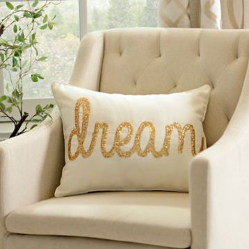 Ivory Dream Accent Pillow | Kirklands
