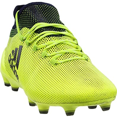 93d58c8c95d78 adidas Mens X 17.1 Firm Ground Soccer Athletic Cleats