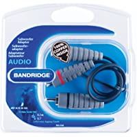 Bandridge Professional Grade Sub Woofer Cable RCA M -2X RCA FEM 0.2 M (BAL4500)