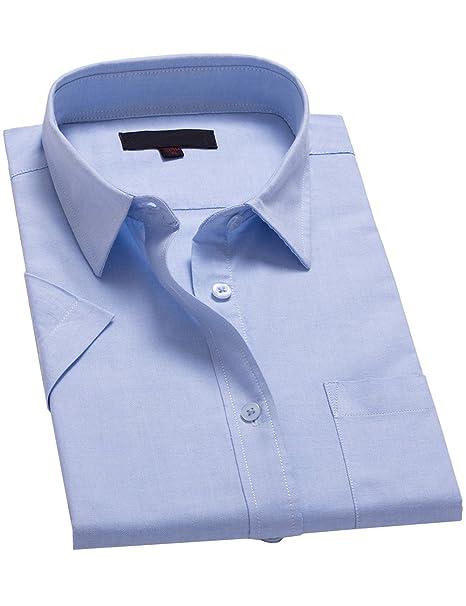 eecb64bd0868 Xi Peng Women's Fashion Feminine Tops Cotton Button Down Short Sleeve Work Dress  Shirts Blouses (