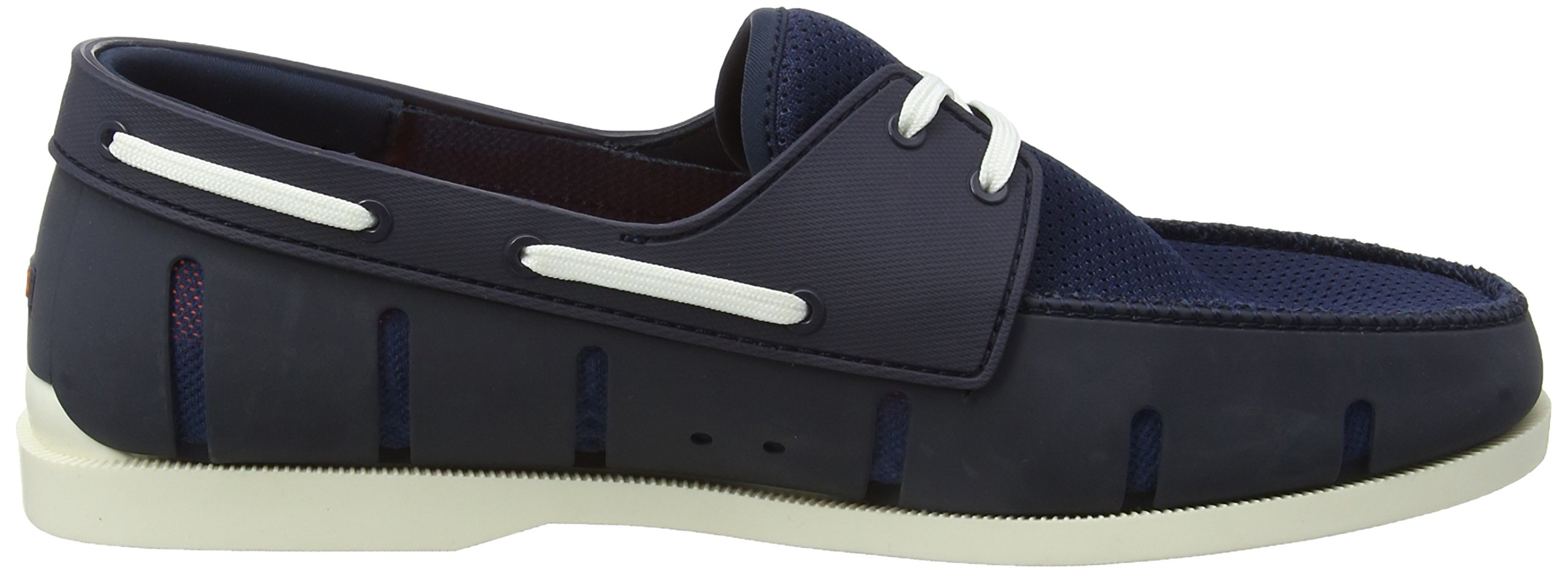SWIMS Men's Boat Loafers, Navy/White, 7 D(M) US by SWIMS (Image #6)