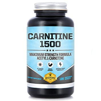 Acetyl L Carnitine 1500mg Per Serving
