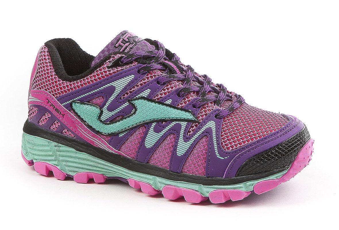 Joma - Zapatillas para Correr en montaña de Material Sintético para niña Azul Navy