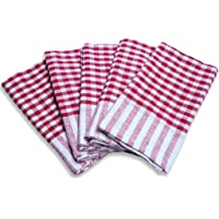 Sharabani Table Wiping Cloth Counter Clean Cloth Kitchen Napkin Towel Multipurpose use Pack of10 (17inch X 17 inch) Multi Color