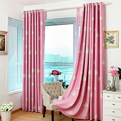 Buy MKchung Clouds Printing Blackout Curtain Living Room ...