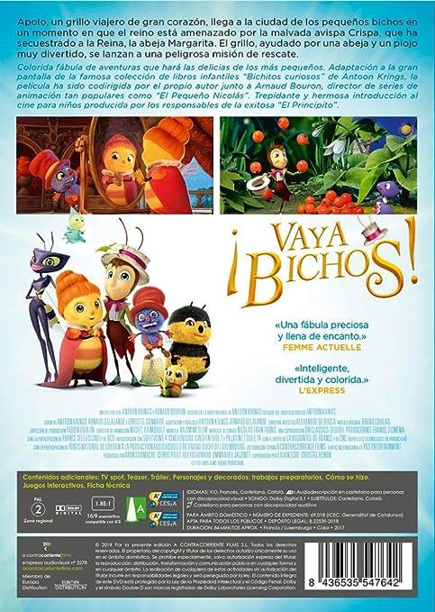 Amazon.com: Drôles de petites bêtes - ¡Vaya bichos! (Non USA Format): Movies & TV