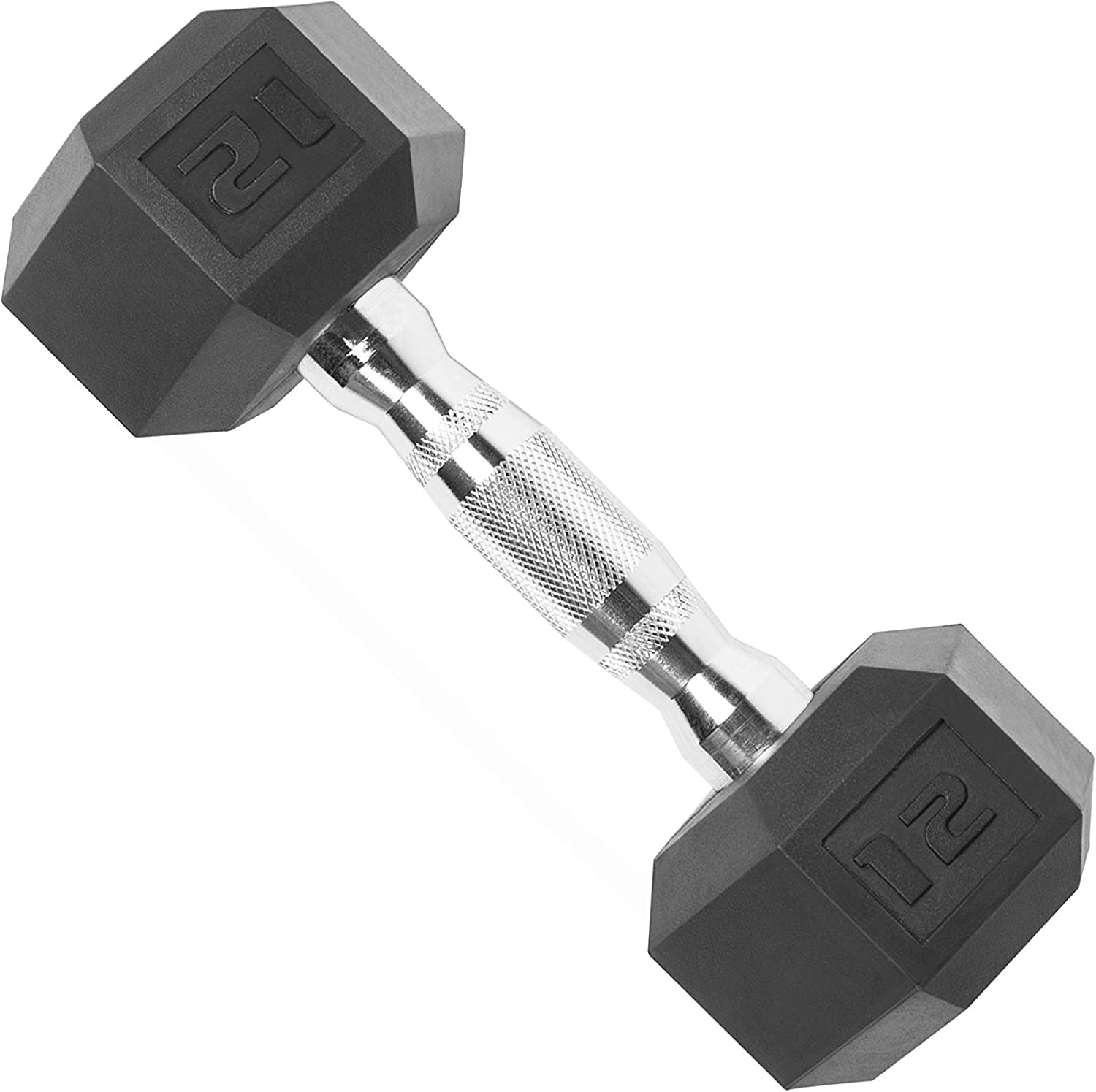 10LB x 2 ISABUFEI Dumbells Weights Dumbbells Set Heavy Choose Weight Barbell Set Hex Rubber Dumbbell with Metal Handles Heavy Dumbbell Set for Muscle Training