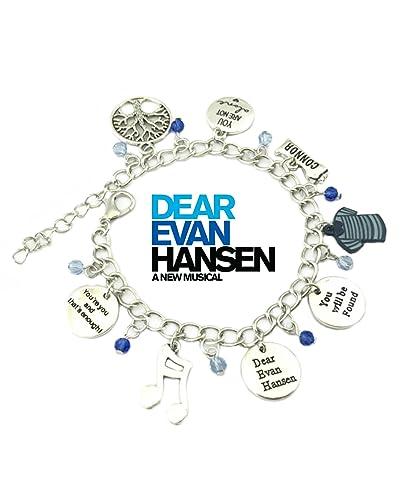 Amazon.com: Dear Evan Hansen Broadway Musical pulsera w/caja ...