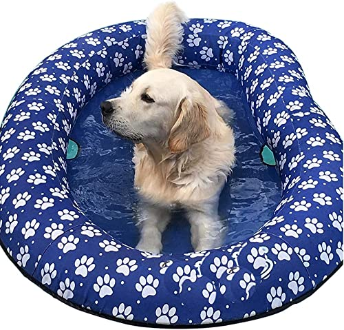 Ginkago-Inflatable-Pool-Float-for-Adult-Dogs-and-Puppies
