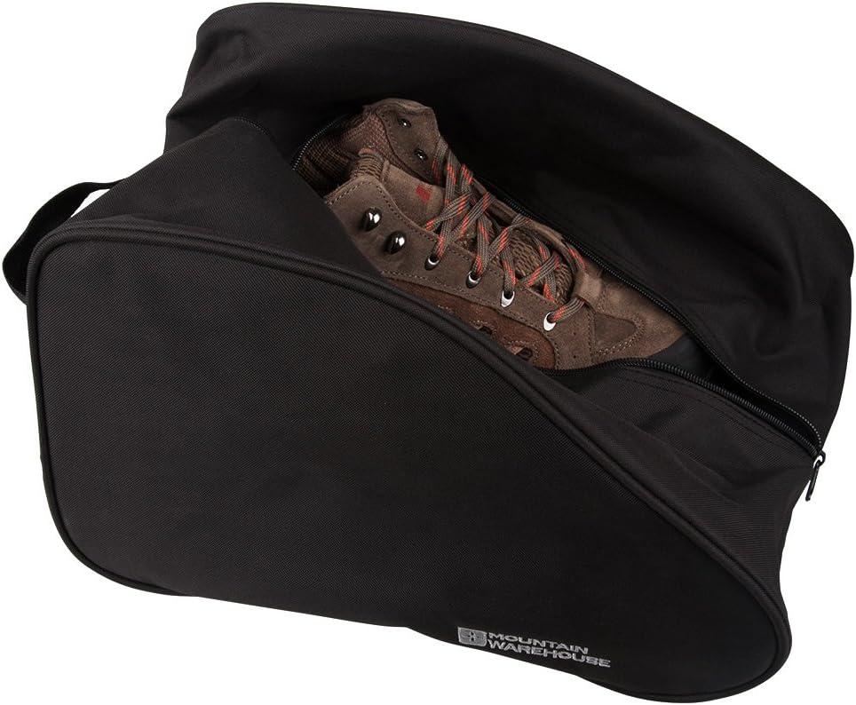 Plegable para un almacenaje f/ácil Mountain Warehouse Saco para Botas Duradero Saco Impermeable para Calzado Adecuado para Todas Tallas y para Zapatos Deportivos