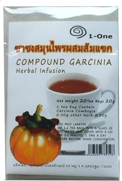 Amazon Com Garcinia Cambogia Tea Bags Diet Weight Loss Slim Pure