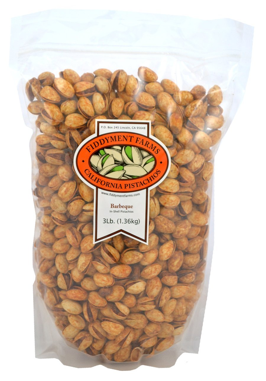 Fiddyment Farms 3lb Barbeque In-shell Pistachios