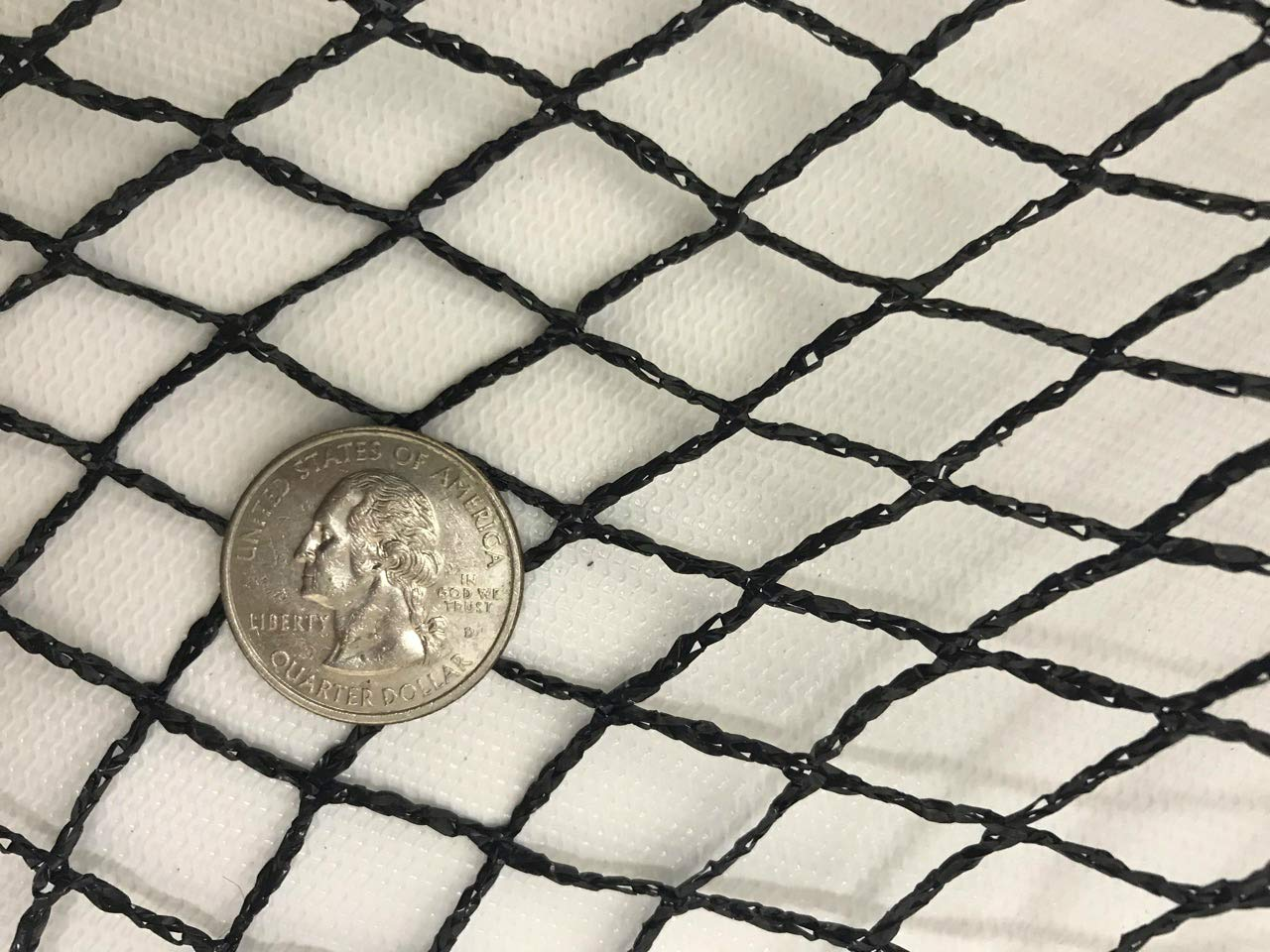 Green Vista 1/2 Inch Commercial Quality Pond & Garden Netting 20x25 Feet - Keeps Out Debris, Predators - Heavy Duty, UV Resistant, Small Holes, Steel Stakes by Green Vista Water Gardens (Image #2)