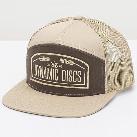 Amazon.com   Dynamic Discs Wheat Arched Snapback Mesh Disc Golf Hat ... ac9c500e6f8