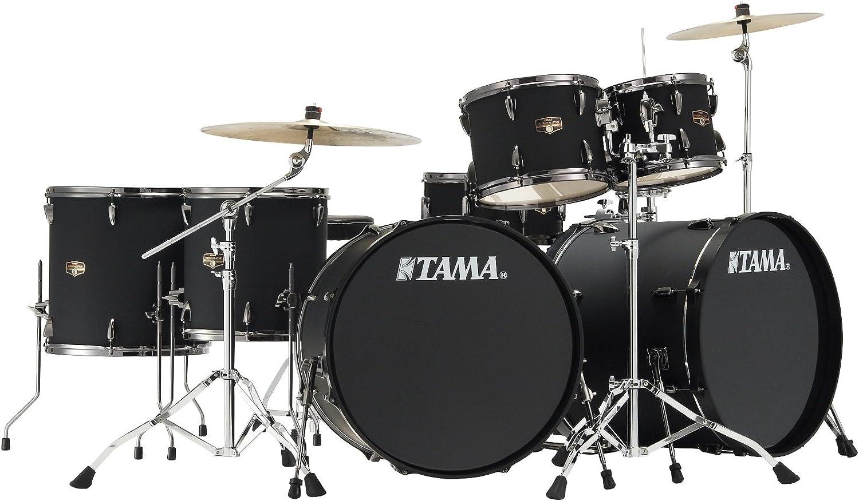 "Tama Imperialstar Tom Tom IPT10A-BBOB 10/""x08/"" Blacked Out Black"