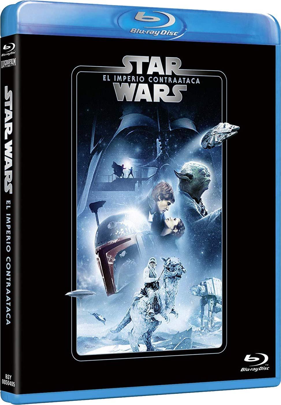 Star Wars Ep. V: El imperio contraataca Edición remasterizada 2 discos película + extras Blu-ray: Amazon.es: Mark Hamill, Harrison Ford, Carrie Fisher, Irvin Kershner, Mark Hamill, Harrison Ford, Gary Kurtz: Cine y