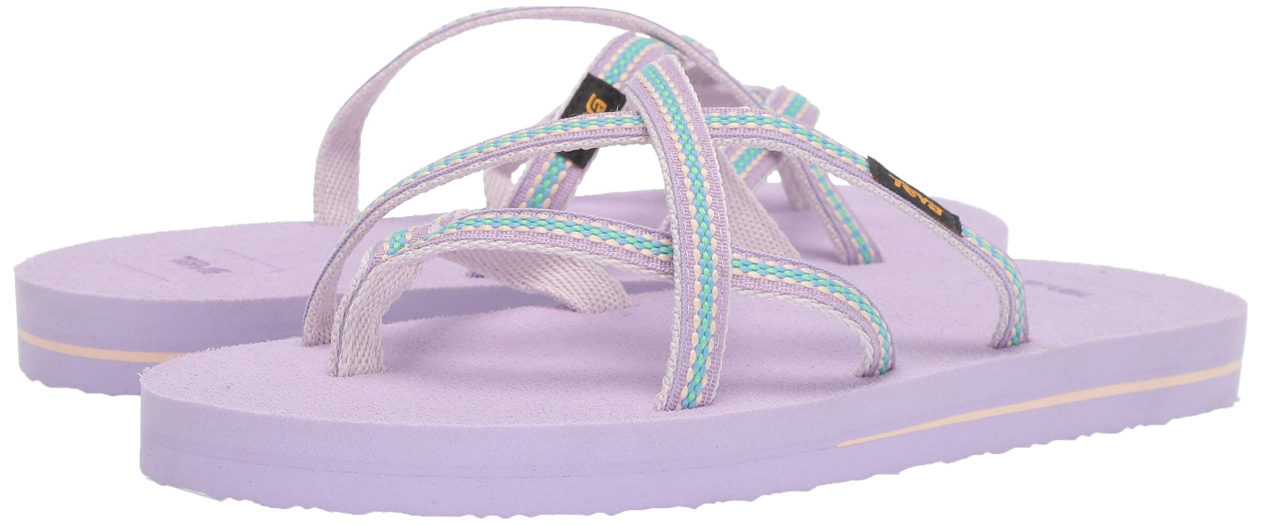Teva Girls' Y Olowahu Sport Sandal, Lindi Orchid Bloom, 7 Medium US Big Kid by Teva (Image #6)