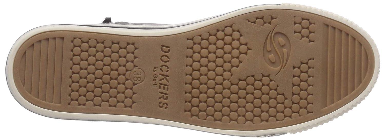 Dockers by Sneaker, Gerli Damen 43am302 Hohe Sneaker, by Grau (Grau 200) ab946c