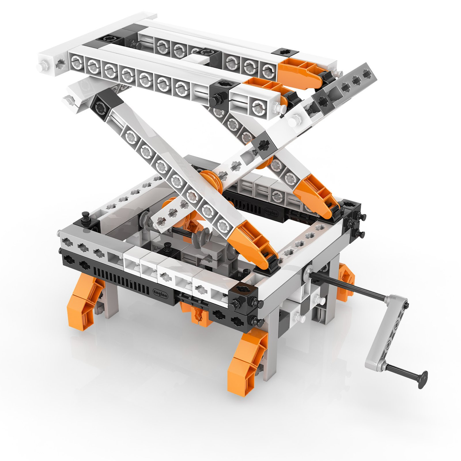 Engino Discovering STEM Simple Machines Mechanisms That Multiply Force Construction Kit by Engino (Image #8)
