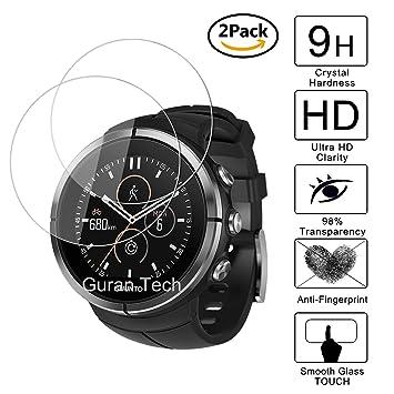 [2 Pack] Guran® Protector de Pantalla Vidrio Cristal Templado Para Suunto Spartan Ultra Smartwatch Cristal Vidrio Templado Film