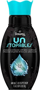 Downy Unstopables Premium Scent Booster with Softener Fabric Enhancer, Fresh, 20.2 Fluid Ounce
