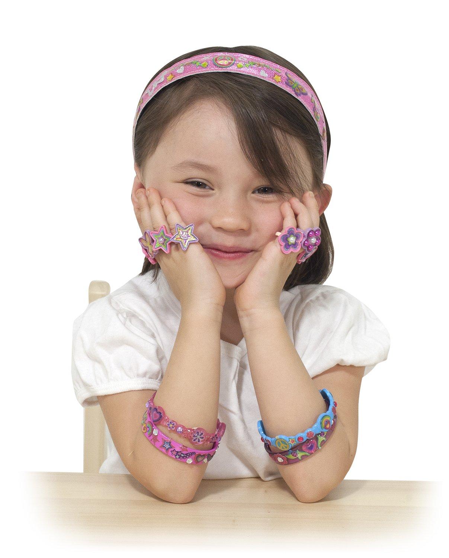 Amazon Melissa Doug Design Your Own Headbands Jewelry Making