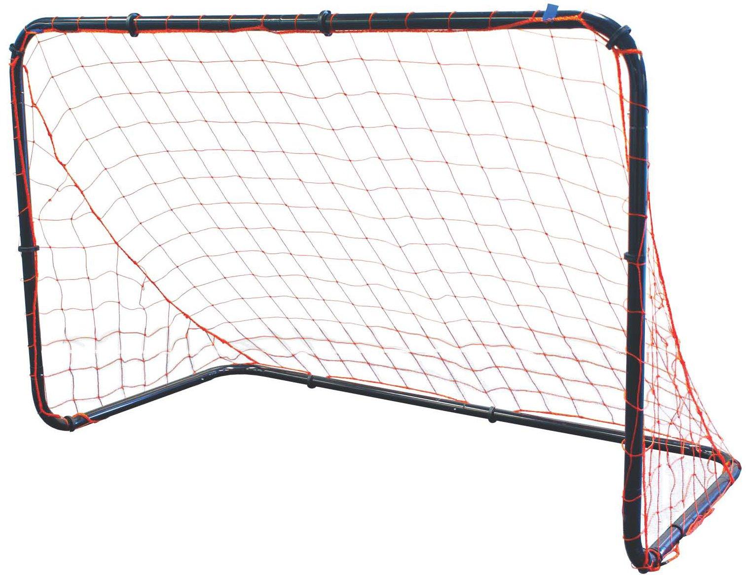 Park & Sun Sports Steel Frame Multi-Sport Goal with Nylon Bungee Slip Net, 6' W x 4' H x 3' D