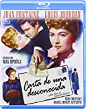 Carta De Una Desconocida [Blu-ray] [Spanien Import]