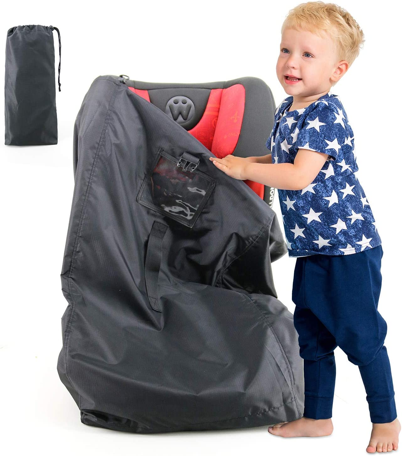 Car-Seat-Travel-Bag for Air Travel and Gate Check Car Seat Carry Bag Fits in Stroller Infant Carriers /& Toddler Sturdy Lightweight Waterproof Make Traveling Easier