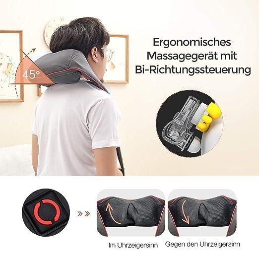 Schwarz Knie Massagegerät Wärme Heizung Therapie Massager Knieschmerzen Gerät PO