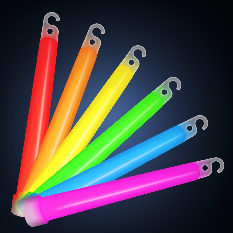 product premium glowtopia sticks glow individually light inch glowsticks mixed buy party